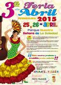 3ª Feria de Abril. 2015
