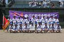 準優勝 川北町学童野球クラブ