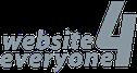 logo website4everyone, jimdo feuerwehrwebseite erstellen