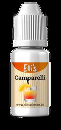 Liquid mit Campari mischen, Dampferaroma Campari, Campari mit Orangensaft als Liquid, Campari Aroma