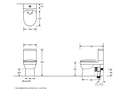 Living Compact Toilet Suite specifications