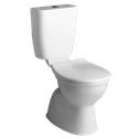 Centino Deluxe Plastic Link Toilet Suite, WELS 4 star rating, 4.5/3L