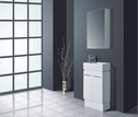 JAZZ Mini ensuite vanity (available white/birch/ash grey) - 480x240mm