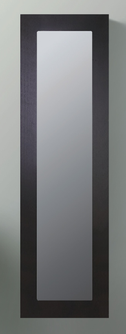LEONE Walnut Timber Mirror Cabinet 450x200x1460mm