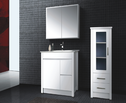 IDEAL finger pull vanity - 750mm (solid door option)