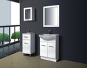 DECO Semi recessed vanity - 600mm