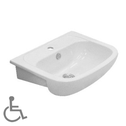 Brio Assist Semi Recessed Basin
