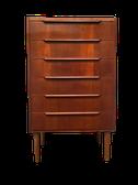 chiffonnier, semainier, rangement, vintage, mobilier vintage, meuble vintage, danish, antiquites, scandinave, bois, fonctionnel, tiroirs, decoration, nordique,