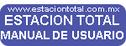 estacion total topografia fichas programas tutoriales manual de usuario
