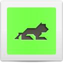Tangram Lion
