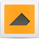 Tangram Incomplete triangle 3