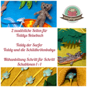 Spielbuch Puppenhaus nähen Filzbuch Quiet book