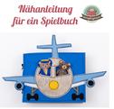 Spielbuch Anleitung Teddy Flugreise Flugzeug Flughafen