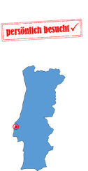 Portugalkarte Santa Cruz