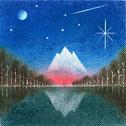 湖畔の夜明け*