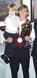 Klara Lensing mit Tochter Lena europameisterin im 8-Ball und 9-Ball bei den Ladies