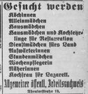 Göttinger Zeitung, 28.11.1918. StA Göttingen
