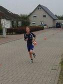 Nils Gerlach auf der Laufstrecke
