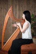 アイリッシュハープ奏者