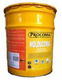 Desmoldante color amarillo con alto contenido de sólidos para cimbras de madera y metálicas.