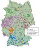 Interaktive Karte zur Perspektive deutscher Städte