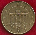 MONEDA ALEMANIA - KM 210 - 10 CÉNTIMOS DE EURO - 2.002 (G) ORO NÓRDICO (MBC/VF) 0,50€.