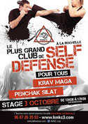 Stage de ligue krav maga Rochefort/Mer