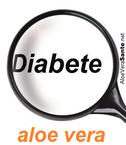 la consommation d'aloe en gel associé à un régime approprié peut réduire de moitié la dose d'insuline exogène habituellement nécessaire en cas de diabète insulo-dépendant. Le gel d'aloe vera pourrait contribuer à abaisser le taux de sucre dans le sang