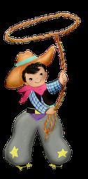 Cowboy und Indianerparty