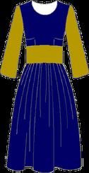 Robes avec jupe plissée