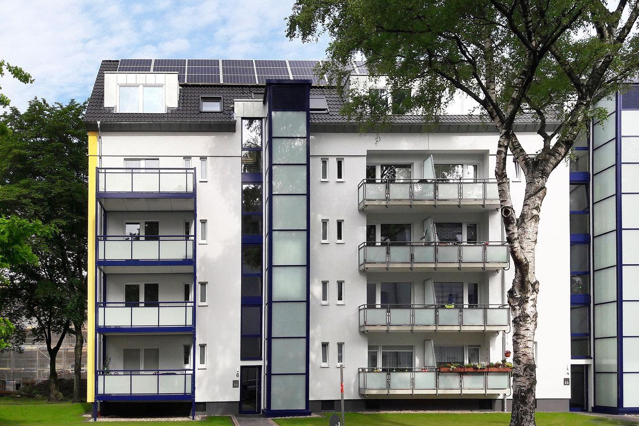 Stegerwaldsiedlung, Planskizze nach Deutsche Wohnungsgesellschaft mbH (DEWOG)