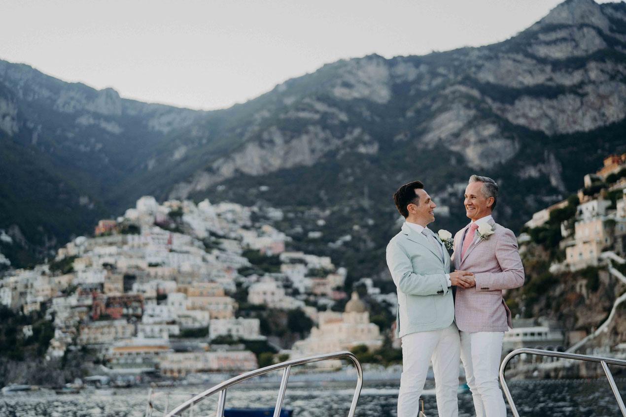 fotografo matrimonio gay positano