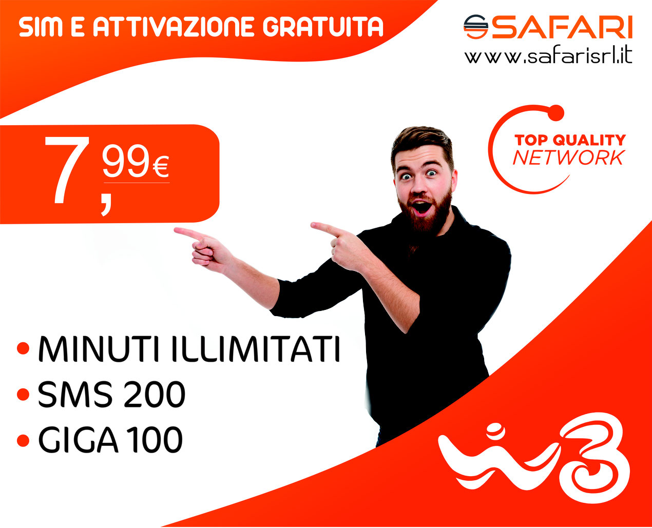 Offerte Windtre a Rovereto e Riva_Safari srl stores