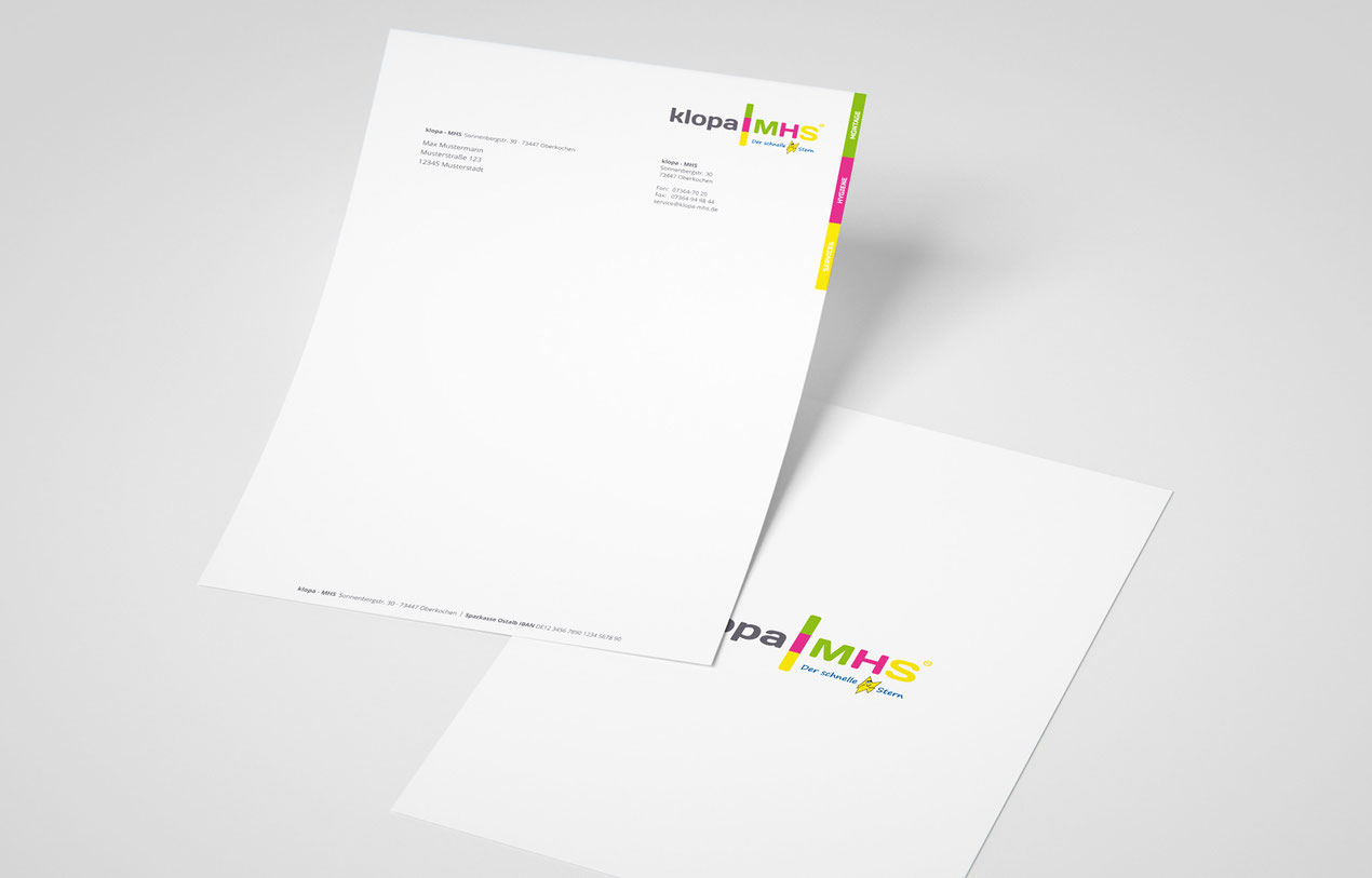 Klopa MHS - Briefpapier