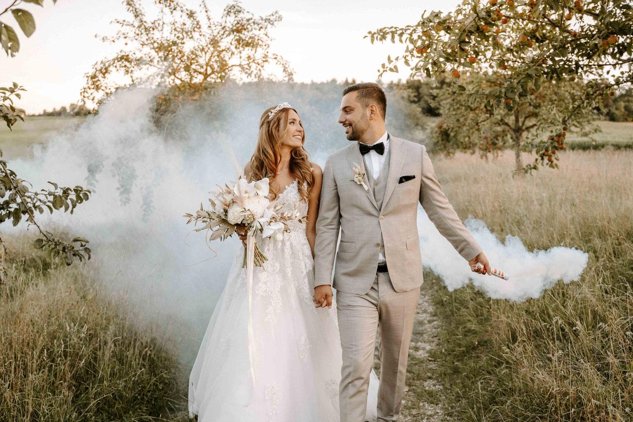 Hochzeit auf dem Hofgut Maisenburg