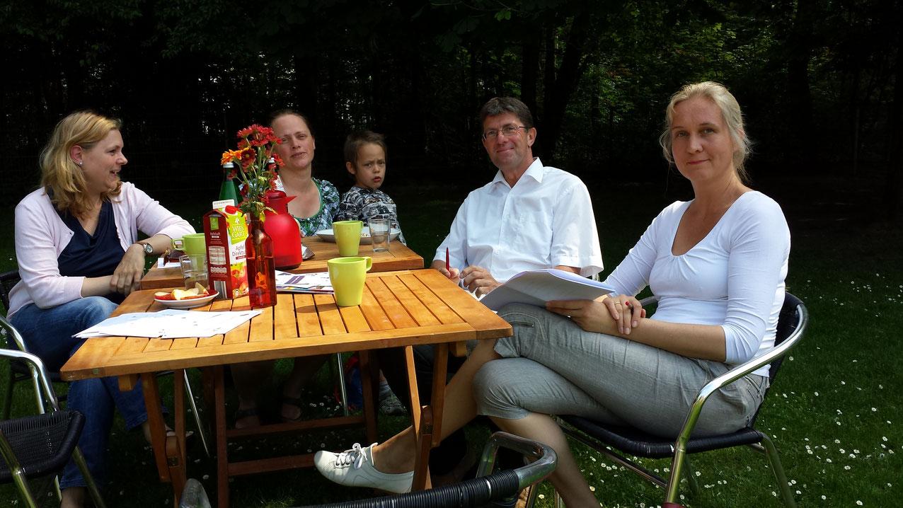 Zu Besuch im Mehrgenerationenhaus in Gievenbeck zusammen mit Doris Feldmann