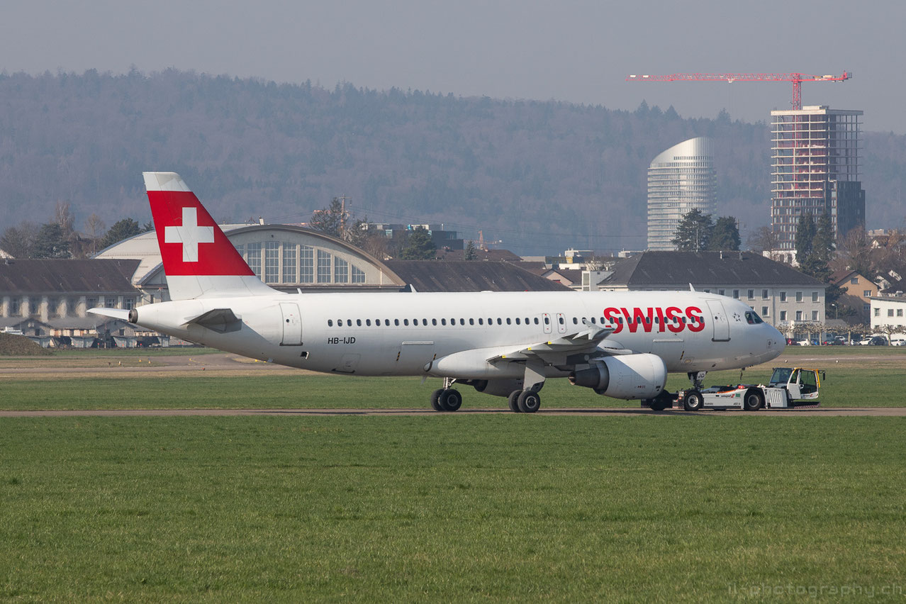 Teilgrounding der Swissflotte in Zürich und Dübendorf aufgrund der Coronakrise in der Luftfahrt.