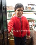 Cómo tejer una casaca con cierre en dos agujas o palitos para niños