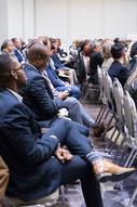 Photo des participants durant un panel du Congrès Quartier des Affaires du Québec CQAQ à Laval par Marie Deschene