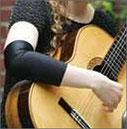chaussette ou manche guitare classique