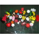 Stress Ball Key Chains Samples