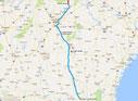 Strecke: 2. Tag (Google Maps)