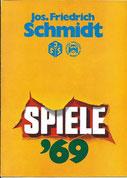 Jos. Friedrich Schmidt - Spiele-Katalog  Erscheinungsjahr:  1969