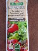 Tomaten., Gemüsedünger von der Firma Florissa. Foto Bio Gärtnerei Kirnstötter