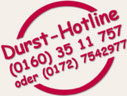 mobile Durst-Hotline