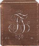 Monogramm BT