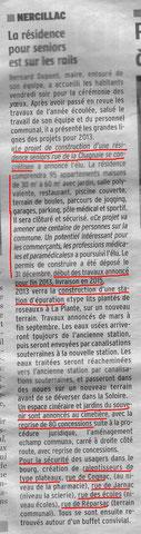 Charente Libre 16-01-2013 (faire un clic sur l'image pour agrandir)