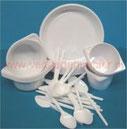 Plastic wegwerp borden vorken messen lepels soepkoppen drinkbekers zilver bestek roerstaafjes servetten tafelkleden online bestellen kopen versteden tilburg