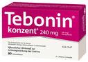 Tebonin ® konzent 240mg Filmtabletten (120)