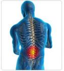 maladie lesion de la colonne vertebrale